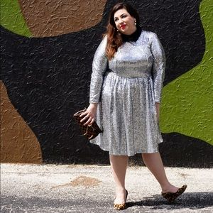 Eloquii Sequined Dress Sz 20